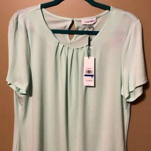 Mint Green Calvin Klein Suit stop, Size XL, NWT